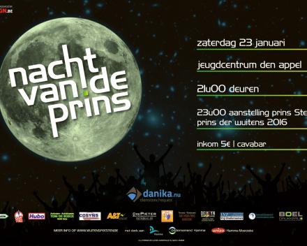 Nacht Van De Prins 2016